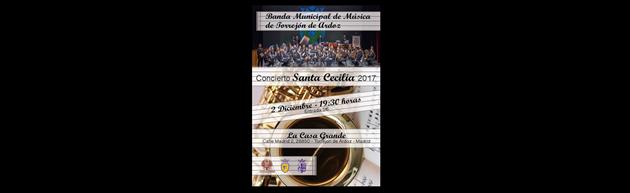 Concierto Sta. Cecilia de la Banda Municipal de Música de Torrejón de Ardoz 2017
