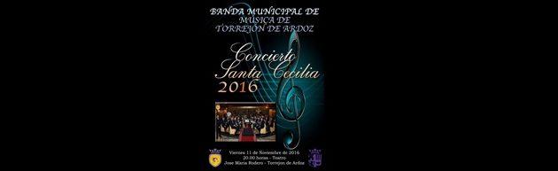 Concierto Sta. Cecilia de la Banda Municipal de Música de Torrejón de Ardoz 2016