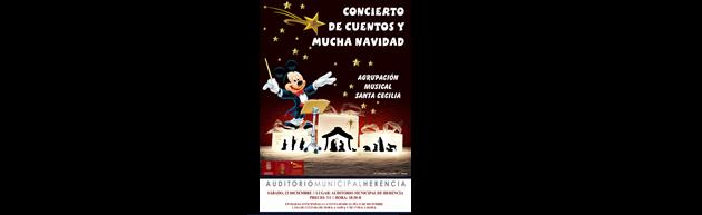 Concierto de Navidad de la Agrupación Musical Sta. Cecilia de Herencia 2017