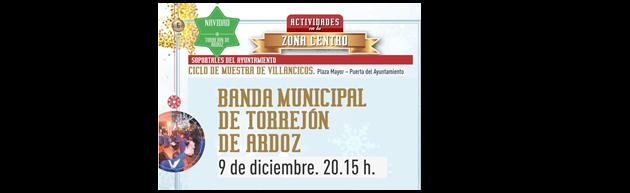 Concierto Navidades Mágicas de la Banda Municipal de Música de Torrejón de Ardoz 2017