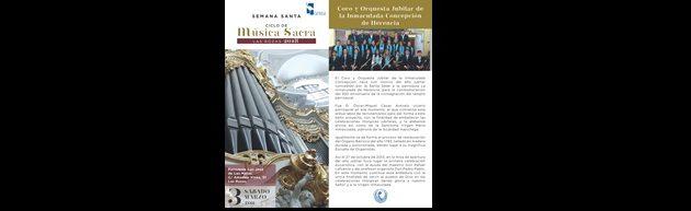 Concierto de Música Sacra 2018. Las Rozas de Madrid