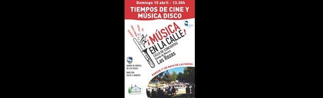11º Concierto de Temporada en el Anfiteatro del Parque 1º de Mayo de Las Matas en Las Rozas con la Banda de Música de Las Rozas de Madrid.