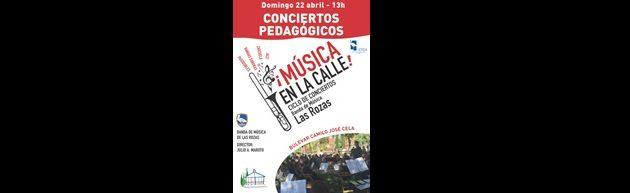 12º Concierto de Temporada en el Anfiteatro del Bulevar Camilo José Cela de Las Rozas con la Banda de Música de Las Rozas de Madrid.