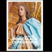 Procesión de la Patrona acompañada por la Agrupación Musical Sta.Cecilia.