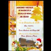 Audiciones y Recitales de Navidad de la Escuela de Música de Colegio SJE.